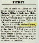 Mylène Farmer Best Mai 1986