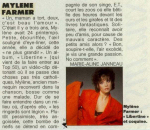Mylène Farmer Elle 23/09/1986