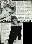 Mylène Farmer Girls 17 septembre 1986