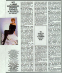 Mylène Farmer Paris Match 06 novembre 1986