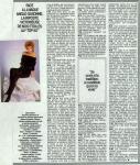 Mylène Farmer Paris Match 06 novembre 1986