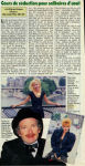 Mylène Farmer - Presse - Télé Loisirs - 05 août 1986