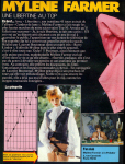 Mylène Farmer Top 50 03 novembre 1986