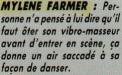 Mylène Farmer Zero 18 novembre 1986