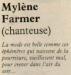 Mylène Farmer Le Matin de Paris 20 Mars 1987