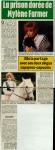 Mylène Farmer Presse Ici Paris 13 avril 1988