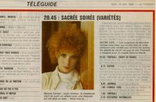 Mylène Farmer Presse Le Parisien 18 mai 1988 1988