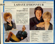 Mylène Farmer Presse - Télé 7 Jours - 15 août 1988