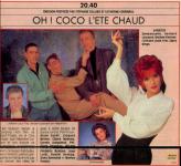 Mylène Farmer Presse TV Magazine 01er uillet 1988