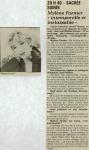 Mylène Farmer Presse Le Progrès 18 mai 1988