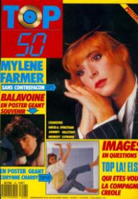 Mylène Farmer Presse TV Top 50 18 janvier 1988