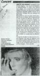 Mylène Farmer Presse La Dernière Heure 24 octobre 1989