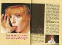 Mylène Farmer Presse Stars Magazine Avril 1989