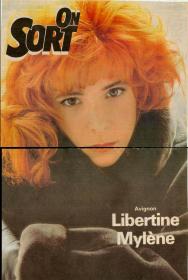 Mylène Farmer Presse On sort 29 septembre 1989