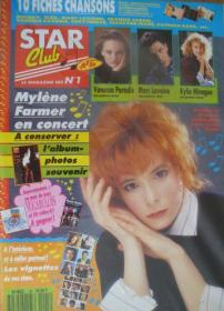 Mylène Farmer Presse Star Club Décembre 1989
