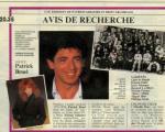 Mylène farmer Presse Télé 7 Jours 13 mars 1989