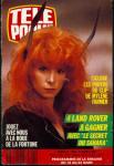 Mylène Farmer Télé Poche 13 mars 1989