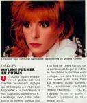 Mylène Farmermylene.netPresse 1990 Madame Figaro 22 janvier 1990