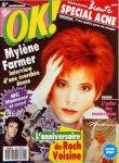 Mylène Farmer Presse - OK ! - 15 avril 1991