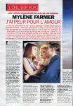 Mylène Farmer - Télé 7 Jours - Programmes du 19 au 25 décembre 1992