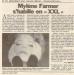 Mylène Farmer - Presse - Le Parisien - 24 août 1995