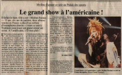 Mylène Farmer Presse La Dépêche du Midi 12 juin 1996