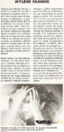 Mylène Farmer Presse Toulouse Flash 05 juin 1996