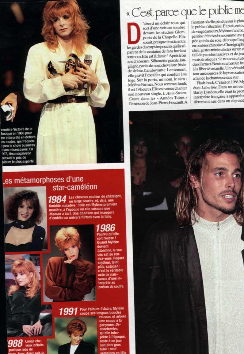 Mylène Farmer Presse - Allo - 07 avril 1999