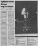 Mylène Farmer - Presse - France Soir - 24 septembre 1999