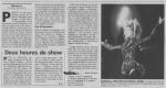 Mylène Farmer - Presse - Le Parisien - 24 septembre 1999