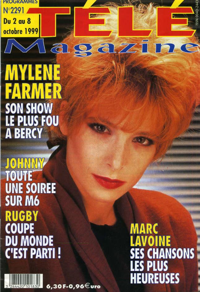 Mylène Farmer - Presse - Télé Magazine - 02 octobre 1999