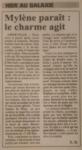 Presse Mylène Farmer - Le Républicain Lorrain - 16 février 2000