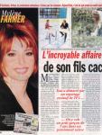 Mylène Farmer Presse France Dimanche Janvier 2001