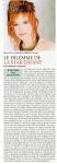 Mylène Farmer Presse Le Figaro Magazine Janvier 2006