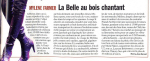 Mylène Farmer Presse Paris Match Janvier 2006