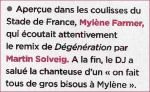 Mylène Farmer Closer 15 juillet 2008