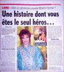 Mylène Farmer France Soir Juin 2008