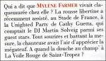 Mylène Farmer Presse - Gala - 23 juillet 2008