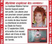 Mylène Farmer Hit Machine Girl Mai 2008