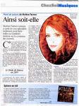 Mylène Farmer Presse L'Echo Republicain 05 septembre 2008