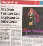 Mylène Farmer La Capitale 05 mai 2008