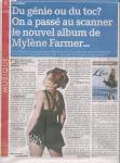 Mylène Farmer Presse La Meuse 27 août 2008