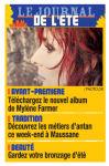 Mylène Farmer La Provence 23 août 2008