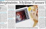 Mylène Farmer Presse La Provence 23 août 2008