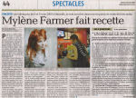 Mylène Farmer Presse - La Provence - 24 mai 2008