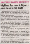 Mylène Farmer Le Bien Public 24 mai 2008