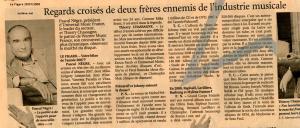 Mylène Farmer Le Figaro 28 janvier 2008