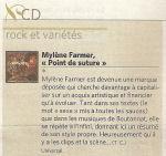 Mylène Farmer Presse Le Mad 03 septembre 2008