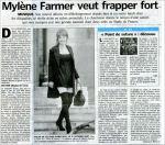 Mylène Farmer Le Parisien 21 août 2008