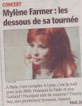 Mylène Farmer Le Progres 02 Juin 2008